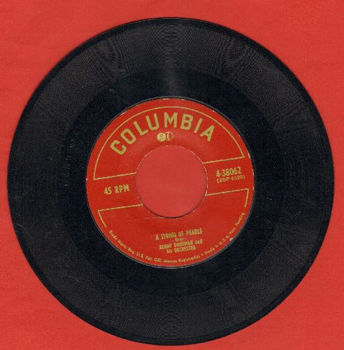 Goodman, Benny & His Orchestra - A String Of Pearls/Jeremy Bounce - EX8/ - 45 rpm Records