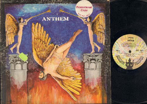 Athem - Anthem: Queen, You're Not So Mean, Florida, New Day, Misty Morns, Ibis, Child (Vinyl LP Record) (promo sticker on cover) - VG7/VG6 - LP Records
