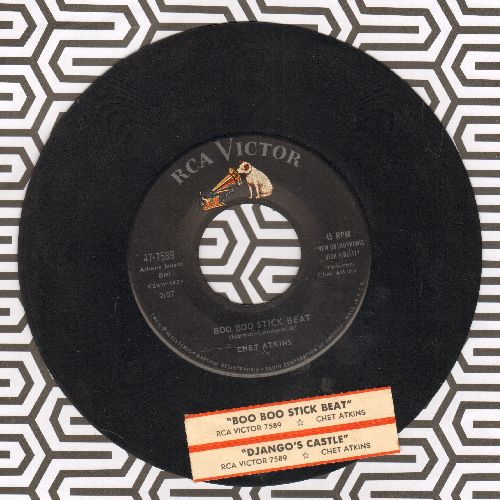 Atkins, Chet - Boo Boo Stick Beat/Django's Castle (with juke box label) - EX8/ - 45 rpm Records