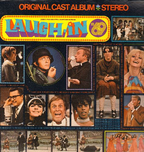 Carne, Judy, Arte Johnson, Ruth Buzzy, Goldie Hawn, others - Laugh-In '69:The Original Cast Album Direct From Beautiful Downtown Burbank (vinyl STEREO LP record) - NM9/NM9 - LP Records