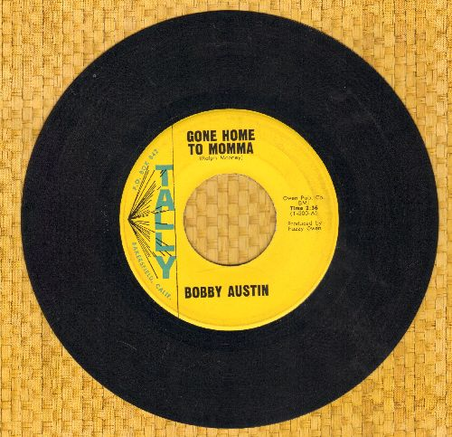 Austin, Bobby - Gone Home To Momma/The Apartment #9 - EX8/ - 45 rpm Records