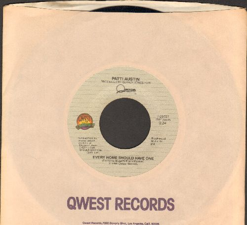 Austin, Patti - Every Home Should Have One/Solero (with Qwest company sleeve) - M10/ - 45 rpm Records