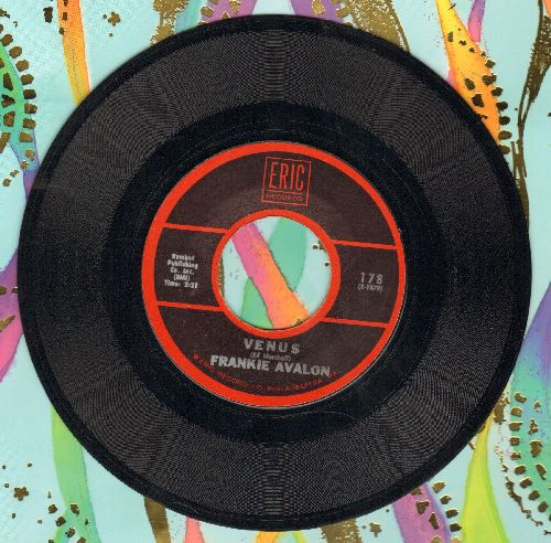 Avalon, Frankie - Venus/Bobby Sox To Stockings (double-hit re-issue) - EX8/ - 45 rpm Records