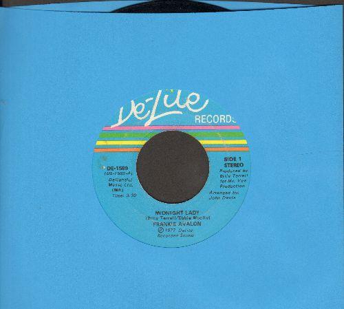 Avalon, Frankie - Midnight Lady/Does She Wonder Where I Am - EX8/ - 45 rpm Records
