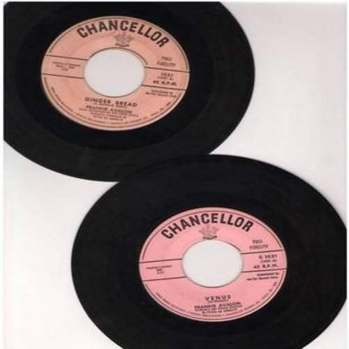 Avalon, Frankie - 2 for 1 Special: Ginger Bread/Venus (2 vintage first issue 45rpm records for the price of 1!) - VG7/ - 45 rpm Records