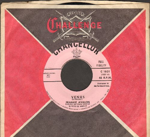 Avalon, Frankie - Venus/I'm Broke (MINT condition with RARE vintage Challenge company sleeve) - M10/ - 45 rpm Records