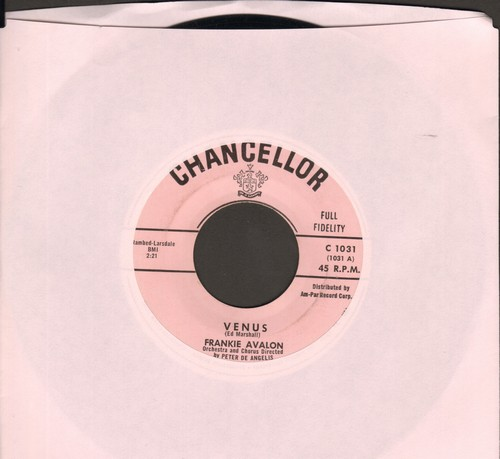 Avalon, Frankie - Venus/I'm Broke  - EX8/ - 45 rpm Records