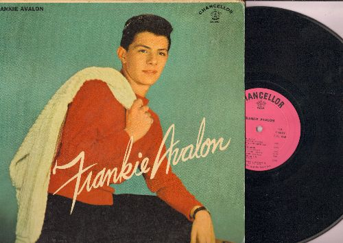Avalon, Frankie - Frankie Avalon: The Stroll, Little Bitty Pretty One, Dede Dinah, At The Hop, Diana, Young Love (Vinyl MONO LP record) - EX8/VG7 - 45 rpm Records
