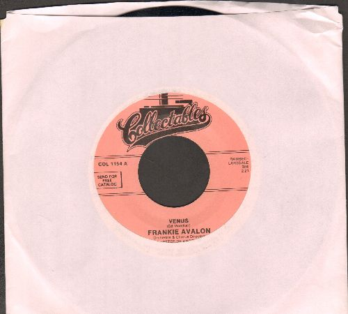 Avalon, Frankie - Venus/I'm Broke (re-issue) - NM9/ - 45 rpm Records