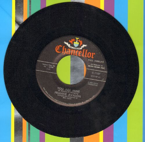 Avalon, Frankie - You Are Mine/Ponchinello  - EX8/ - 45 rpm Records
