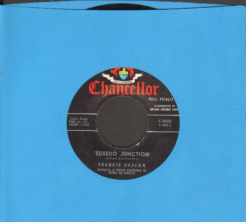 Avalon, Frankie - Tuxedo Junction/Where Are You (sol) - EX8/ - 45 rpm Records