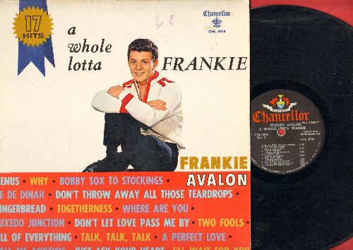Avalon, Frankie - A Whole Lotta Frankie: Venus, De De Dinah, I'll Wait For You, Why, Gingerbread, Just Ask Your Heart (vinyl MONO LP record) - VG7/EX8 - LP Records