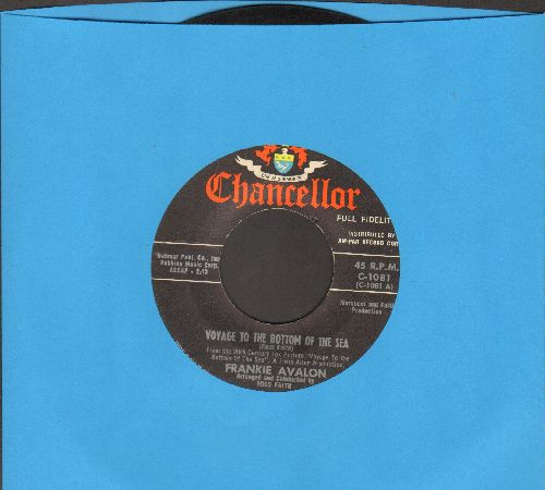 Avalon, Frankie - Voyage To The Bottom Of The Sea/The Summer Of '61 (label blemish on B-side) - EX8/ - 45 rpm Records