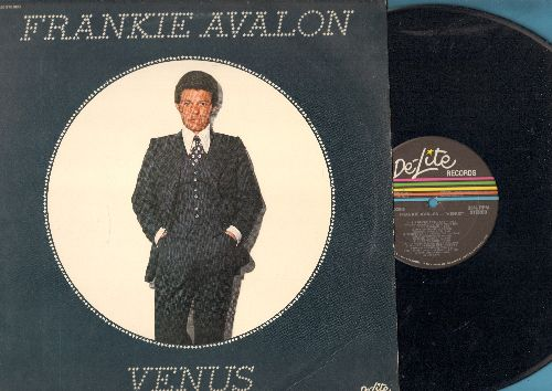 Avalon, Frankie - Venus: Somewhere Over Arizona, It's Never Too Late, Where I Leave Off (And You Begin), I Got To Sing (vinyl STEREO LP record) - NM9/EX8 - LP Records