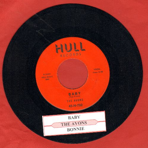 Avons - Baby/Bonnie (authentic-looking re-issue with juke box label) - NM9/ - 45 rpm Records