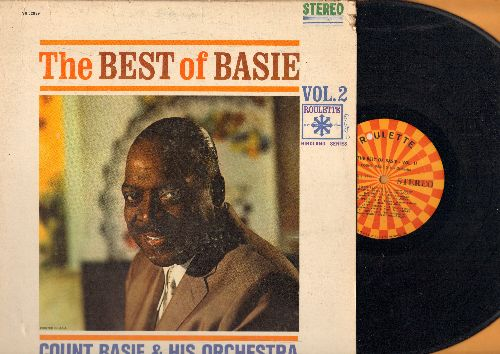 Basie, Count & His Orchestra - The Best Of Basie Vol. 2: Tickle Toes, Texas Shuffle, Doggin' Around, Topsy (Vinyl STEREO LP record) - VG7/VG7 - LP Records
