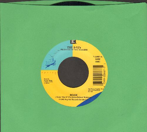 B-52's - Roam/Bushfire - EX8/ - 45 rpm Records