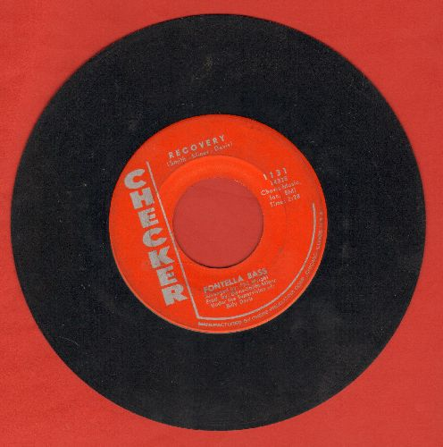 Bass, Fontella - Recovery/Leave It In The Hands Of Love (red label early pressing) - VG7/ - 45 rpm Records