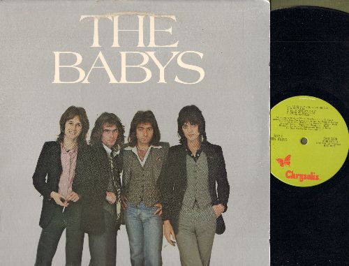 Babys - The Babys: Looking For Love, Wild Man, I Love How You Love Me, Over And Over, Dying Man (vinyl LP record) - EX8/VG7 - LP Records