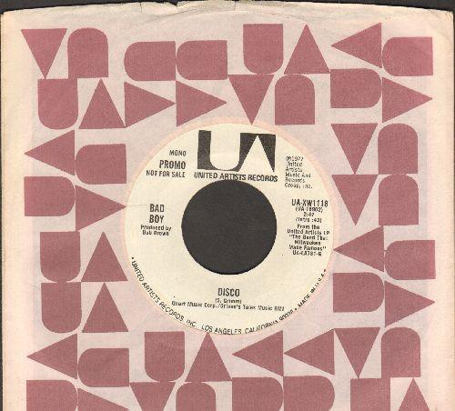 Bad Boy - Disco (double-A-sded DJ advance pressing featuring MONO and STERE version) - NM9/ - 45 rpm Records