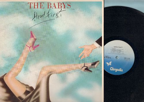 Babys - Head First: Love Don't Prove I'm Right, Please Don't Leave Me Here, White Lighning, California (vinyl LP record) - EX8/VG7 - LP Records