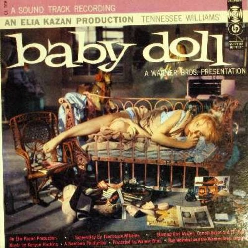 Baby Doll - Baby Doll - Original Motion Picture Sound Track featuring Ray Heindorf and the Warner Brothers' Orchestra (Vinyl MONO LP record) - NM9/EX8 - LP Records