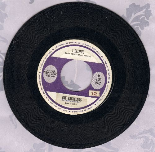 Bachelors - I Believe/Sweet Lullabies  - EX8/ - 45 rpm Records
