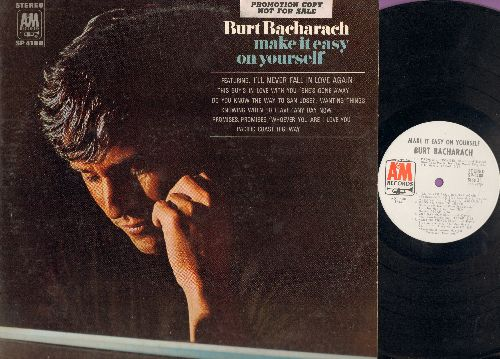 Bacharach, Burt - Make It Easy On Yourself: Promises, Promises, I'll Never Fall In Love Again, Knowing When To Leave, Any Day Now, Wanting Things, Whoever You Are I Love You, Make It Easy On Yourself, Do You Know The Way To San Jose, Pacific Coast Highway
