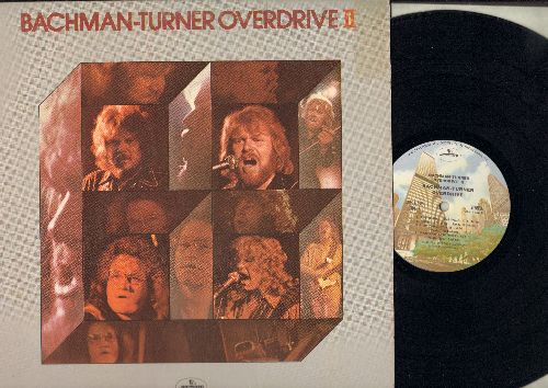 Bachman-Turner Overdrive - Bachman-Turner Overdrive II: Takin' Care Of Business, Let It Ride, Blown, Give It Time, Tramp, Welcome Home (Vinyl STEREO LP record, 1980s pressing) - NM9/EX8 - LP Records