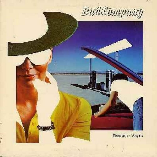Bad Company - Desolation Angels: Rock 'N' Roll Fantasy, Crazy Circles, Evil Wind, Lonely For Your Love, Rhythm Machine (Vinyl STEREO LP record, gate-fold cover) - EX8/VG7 - LP Records