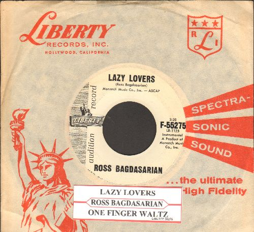 Bagdasarian, Ross - Lazy Lovers/One Finger Waltz (DJ advance pressing with RARE vintage Liberty company sleeve and juke box label) - NM9/ - 45 rpm Records