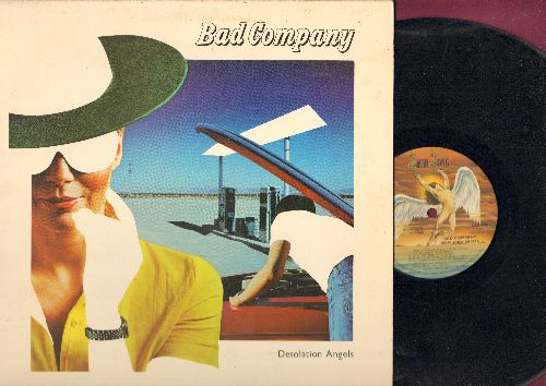 Bad Company - Destination Angels: Rock 'n' Roll Fantasy: Early In The Morning, Lonely For Your Love, Rhythm Machine (vinyl STEREO LP record, gate-fold cover) - NM9/EX8 - LP Records