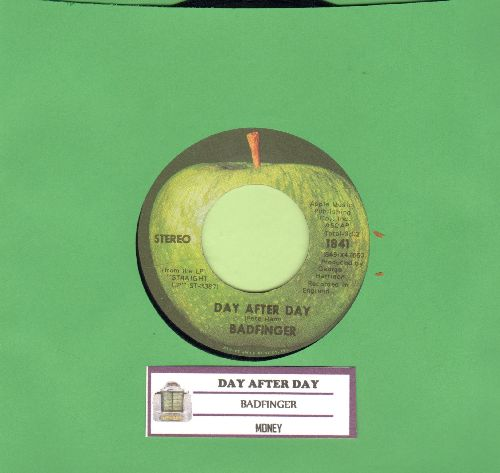 Badfinger - Day After Day/Money (with juke box label) - EX8/ - 45 rpm Records