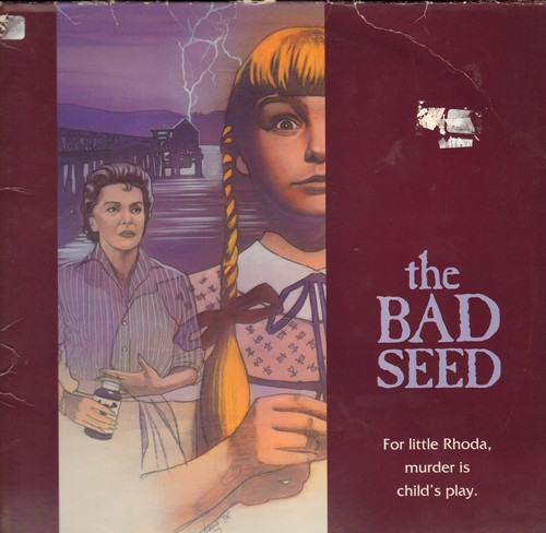 The Bad Seed - The Bad Seed - The Cult Classic Thriller on 2 LASERDISCS (These are LASERDISCS, not any other kind of media!) - NM9/VG7 - LaserDiscs