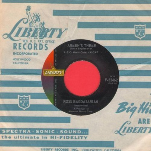 Bagdasarian, Ross - Armen's Theme/Russian Roulette (with Liberty company sleeve) (Ross Bagdasarian aka David Seville of the Chipmunks Fame) - NM9/ - 45 rpm Records