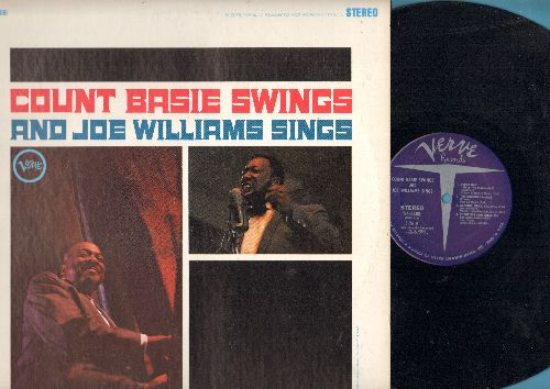 Basie, Count & Joe Williams - Count Basie Swings And Joe Williams Sings: Teach Me Tonight, Roll 'Em Pete, Every Day (I Have The Blues), The Comeback (vinyl STEREO LP record, re-issue of vintage recordings) - NM9/NM9 - LP Records