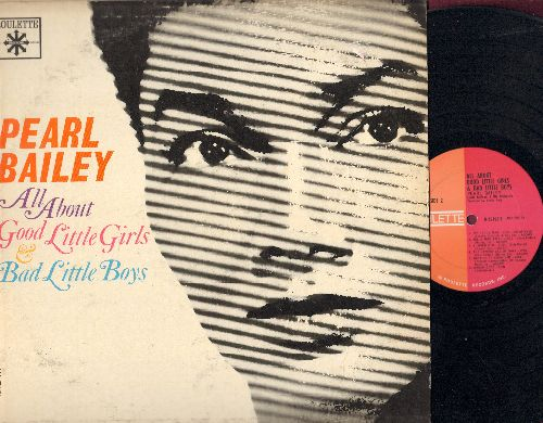Bailey, Pearl - All About Good Little Girls & Bad Little Boys: Just Like A Man, Rip Van Vinkle, Diamonds Are A Girl's Best Friend, The Laziest Girls In Town (vinyl MONO LP record) - EX8/VG7 - LP Records