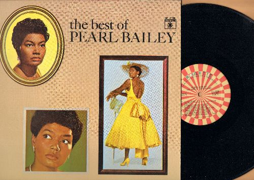 Bailey, Pearl - The Best Of Pearl Bailey: Tired, Takes Two To Tango, Ma He's Making Eyes At Me, St. Louis Blues, Ac-Cent-Tchu-Ate The Positive (Vinyl STEREO LP record, re-issue of vintage recordings) - M10/NM9 - LP Records
