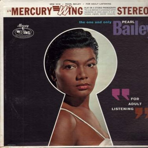 Bailey, Pearl - For Adult Listening: Easy Street, Everybody Loves My Baby, That's My Weakness Now, A Porter's Love Song To A Chambermaid (Vinyl STEREO LP record) - M10/EX8 - LP Records