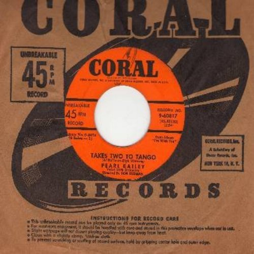 Bailey, Pearl - Takes Two To Tango/Let There Be Love (with vintage Coral company sleeve) - EX8/ - 45 rpm Records