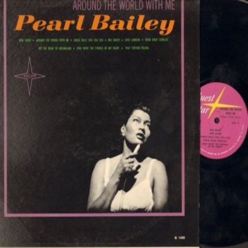 Bailey, Pearl - Around The World With Me: Loch Lemond, Zing Went The Strings Of My Heart, Bill Bailey, Jingle Bells Cha Cha Cha (Vinyl MONO LP record) - M10/EX8 - LP Records