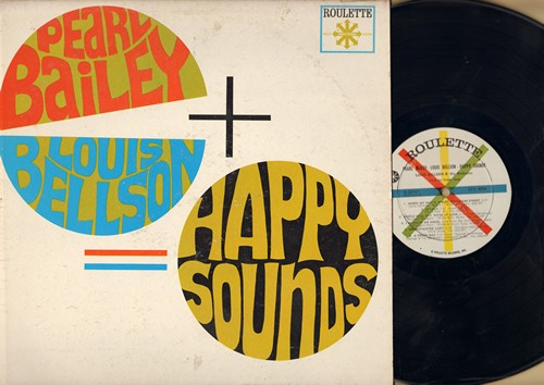 Bailey, Parl & Louis Bellson - Happy Sounds: That Certain Feeling, When My Sugar Walks Down The Street, Sophisticated Lady, People Will Say We're In Love (Vinyl MONO LP record) - NM9/VG7 - LP Records