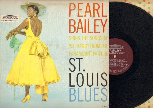 Bailey, Pearl - St. Louis Blues: Beale Street Blues, Careless Love, Long Gone, Ole Miss (Vinyl MONO LP record) - NM9/VG7 - LP Records