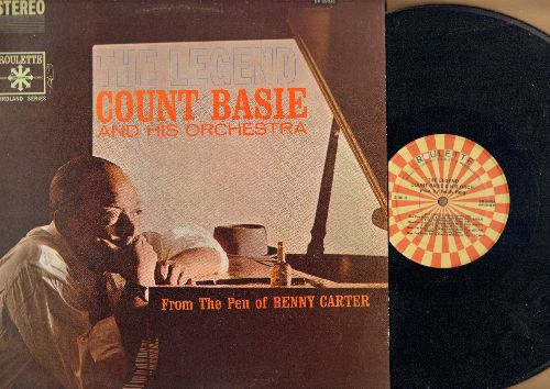 Basie, Count & His Orchestra - The Legend: The Trot, Easy Money, Who's Blue?, Turnabout, Goin' On (vinyl STEREO LP record, authentic-looking re-issue) - NM9/NM9 - LP Records