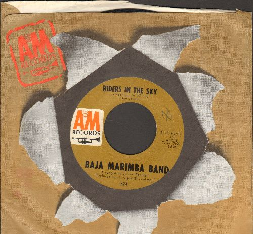Baja Marimba Band - Riders In The Sky/Sabor A Mi (Be True To Me) (with A&M company sleeve) - EX8/ - 45 rpm Records