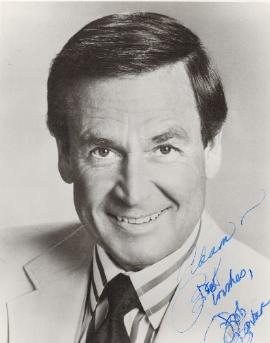 Barker, Bob - Personalized 8 X 10 Head-Shot Autograph by Bob Barker, legendary Host of -The Price Is Right-: Adam - Best Wishes, Bob Barker.  - EX8/ - Autograph