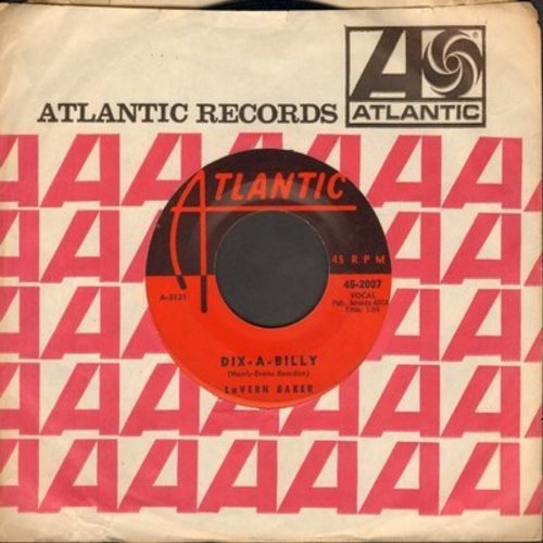 Baker, LaVern - I Cried A Tear/Dix-A-Billy (with Atlantic company sleeve) - EX8/ - 45 rpm Records