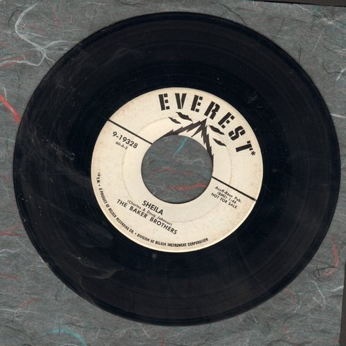 Baker Brothers - Sheila/A Dolly Like You (DJ advance pressing) - EX8/ - 45 rpm Records