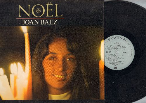 Baez, Joan - Noel: The Little Drummer Boy, Ave Maria, Silent Night, What Child Is This (Vinyl STEREO LP record) - EX8/EX8 - LP Records