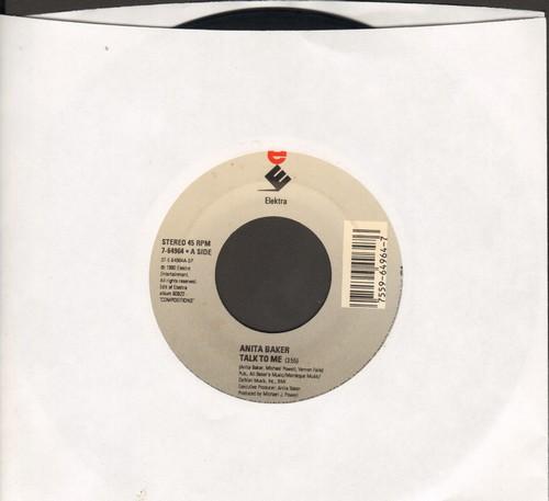 Baker, Anita - Talk To Me/Good Enough - EX8/ - 45 rpm Records